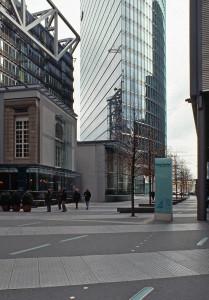 Bahn-Tower di Helmut Jahn (Potsdamer Platz) 7