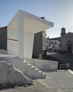 Raimondo Guidacci  percorso pedonale a Orsara di Puglia