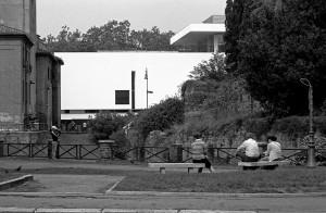 Ara Pacis a Roma arch.  Richard Meier