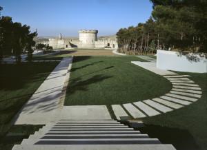 Luigi Acito  parco del castello a Matera