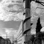 torre dell'acqua stazione Termini Roma  arch. Angiolo Mazzoni -