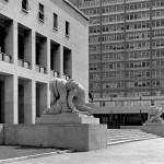 palazzo degli Uffici dell'Ente Autonomo EUR  Roma  arch. Marcello Piacentini