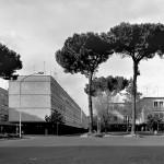 Villaggio olimpico 1   Roma  architetti Vittorio Cafiero, Adalberto Libera, Amedeo Luccichenti, Vincenzo Monaco e Luigi Moretti