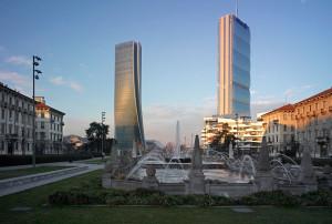 citylife-55  Milano  Arata Isozaki - Zaha Hadid