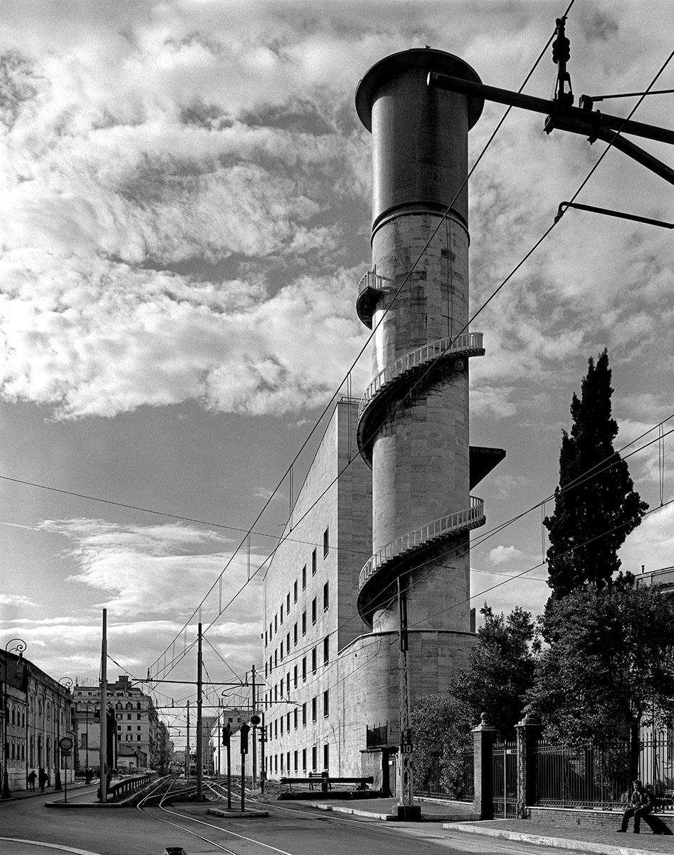copertina Angiolo Mazzoni - torre dell'acqua stazione Termini Roma