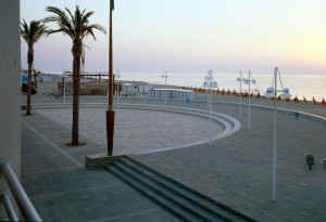 lungomare a Metaponto  arch. Luigi Acito