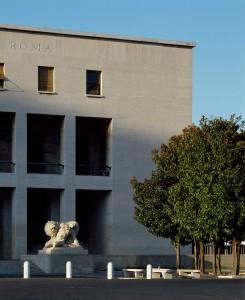 Palazzo degli Uffici dell'Ente Autonomo EUR Roma arch. Gaetano Minnucci