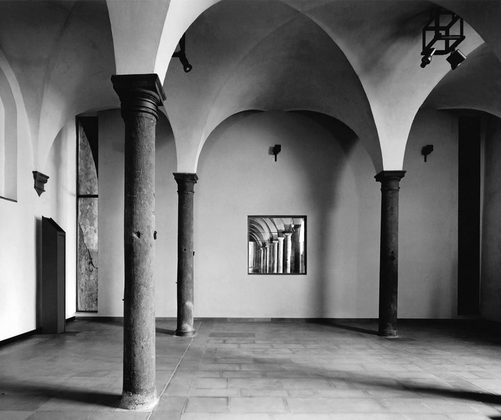 stalle delle scuderie medicee - Poggio a caiano  Toscana - ( F. Purini: F.Barbagli e P.Baroni )
