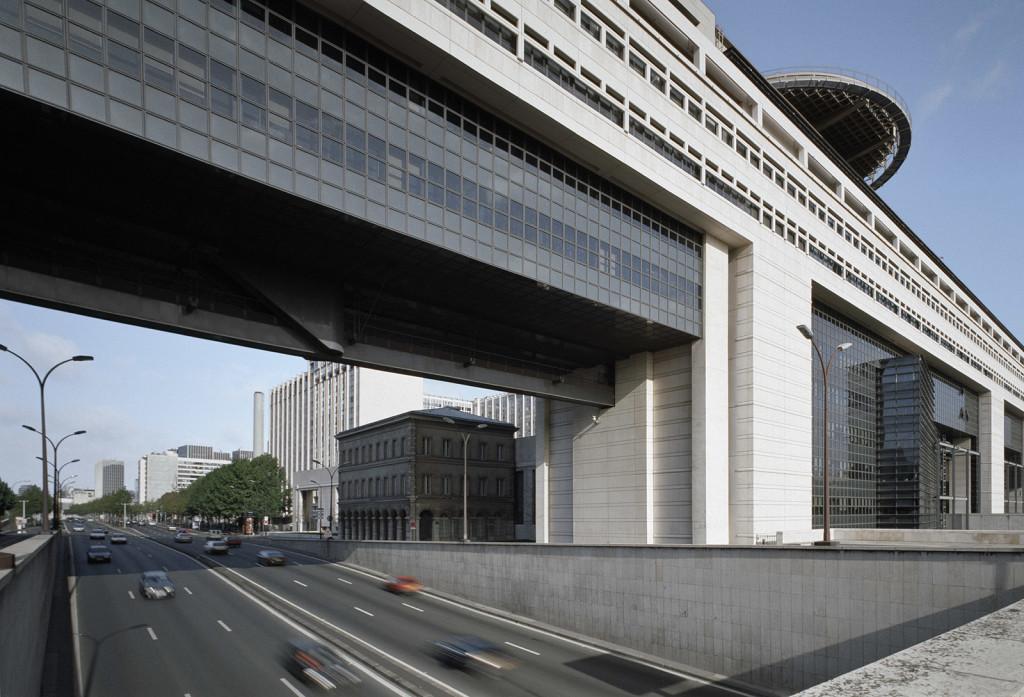 Paul Chemetov  Ministère des Finances Parigi