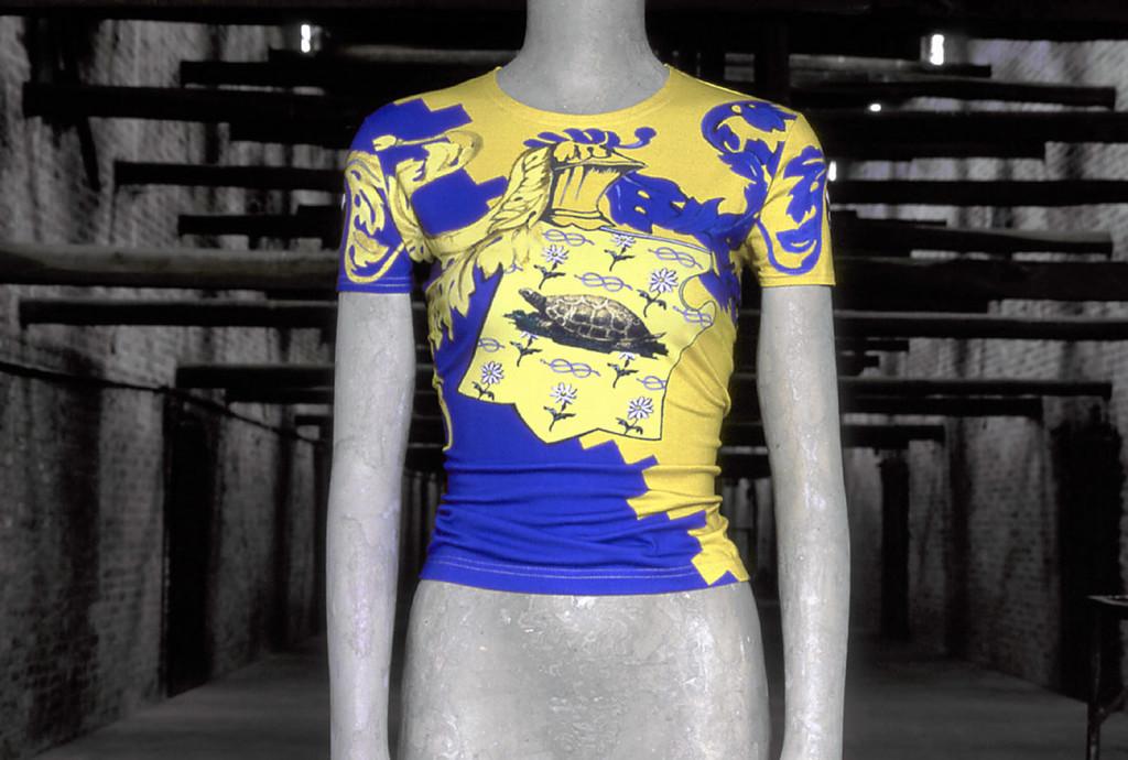 Anna Domenici collezione palio 5 maglietta tartuca
