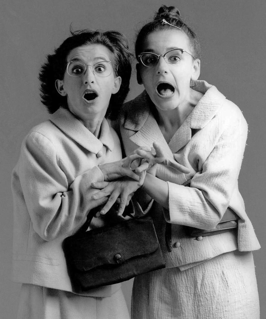 Rosa Masciopinto e Giovanna Mori