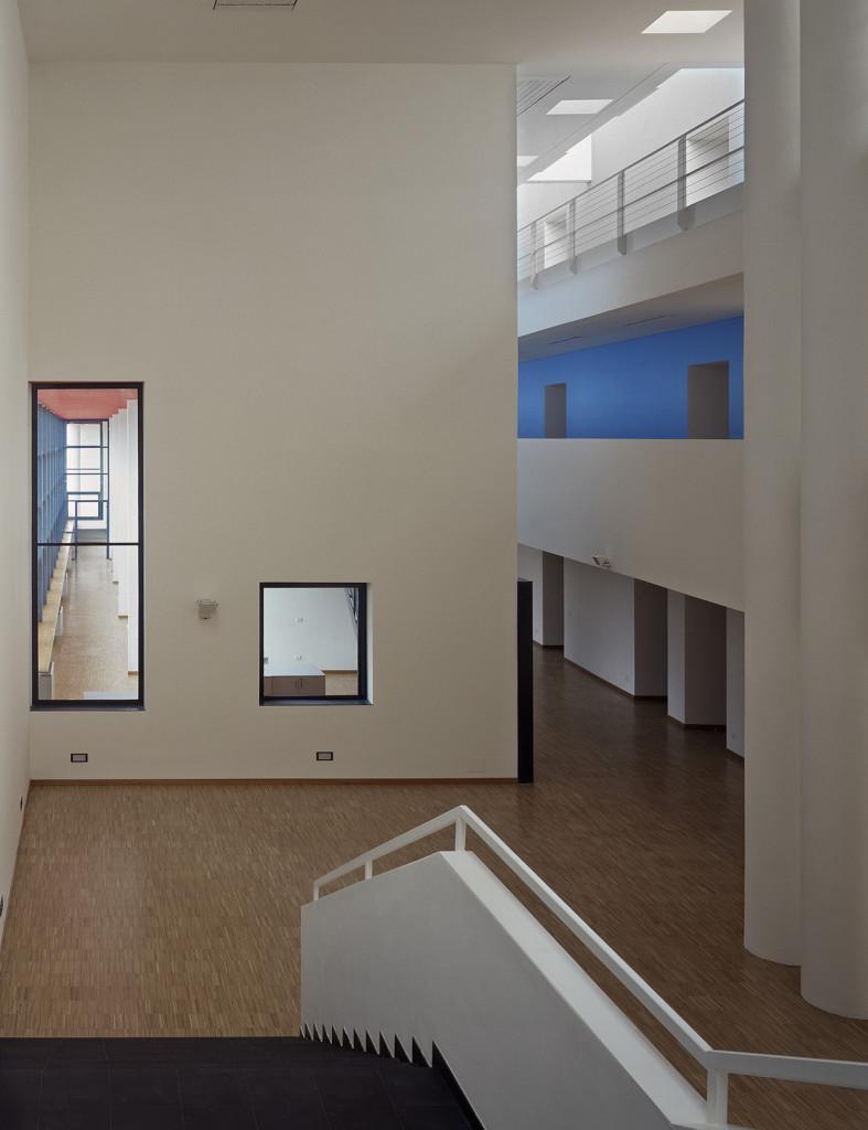 complesso scolastico a San Giovanni Valdarno arch. Mauro Galantino